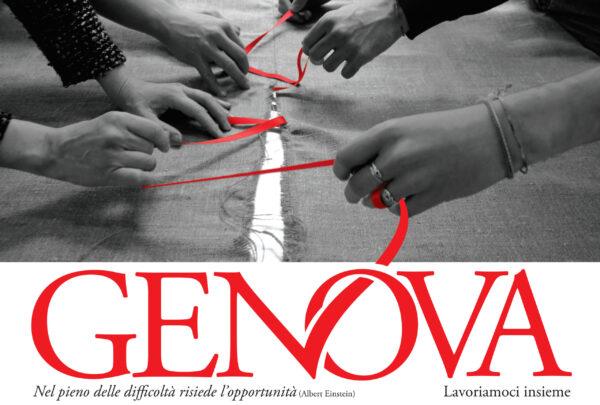Manifesto per Genova Santarelli e Carota